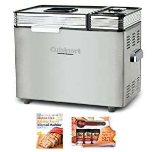 Cuisinart CBK200 2-Pounds Convection Automatic Bread Machine + Gluten-Free Baking Classics... by Cuisinart