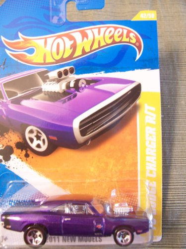 Hot Wheels 2011 New Models '70 Dodge Charger R/T (Purple) #42/50
