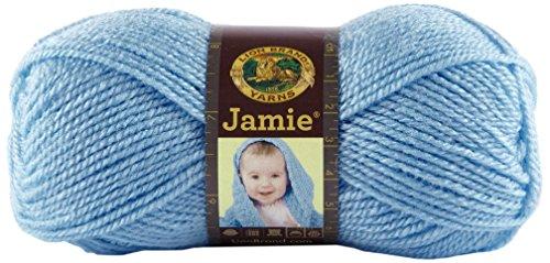 Lion Brand Yarn 881-108 Jamie Yarn, Blue Bonnet front-1042250