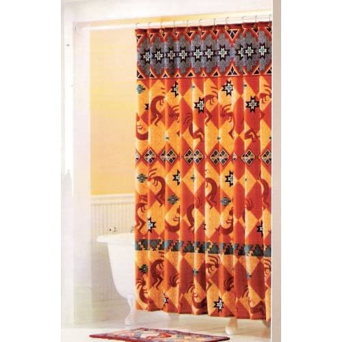 Decorative Shower Curtain Rings Orange Fabric Shower Curtains