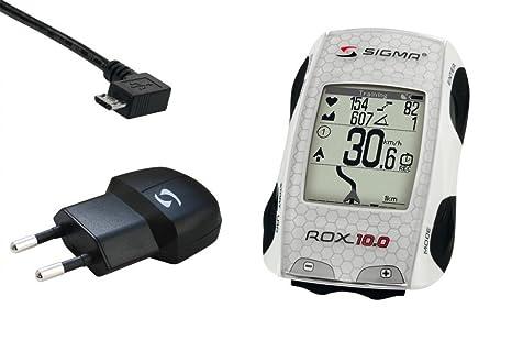 Sigma 10 compteur gPS rOX basic blanc sans émetteur