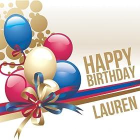 Amazon.com: Happy Birthday Lauren: The Happy Kids Band: MP3 Downloads