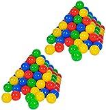 Knorrtoys 56781 - Bälleset - 200 Stück colour