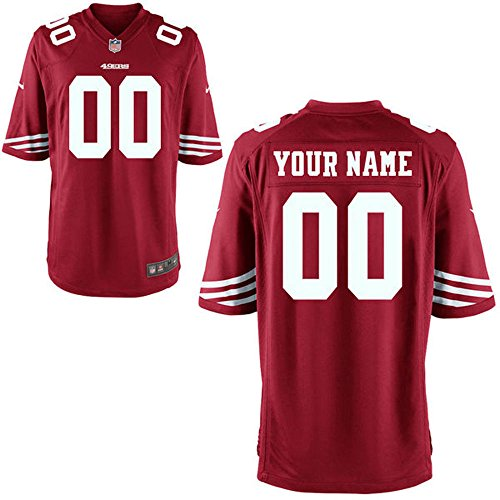 Men's San Francisco 49ers Navorro Bowman Red Game Jersey