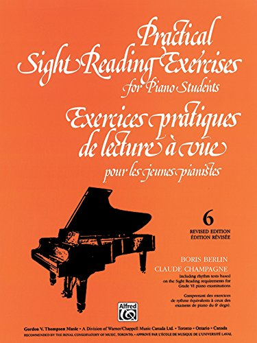 Practical Sight Reading Exercises for Piano Students, Bk 6