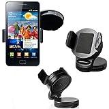 Auto Kfz Halter f�r Samsung Galaxy S3 SIII i9300 / Autohalterung Autohalter Halterung 360� Grad Schwankbar VIBRATIONSFREI / KFZ Halterung / KFZ Halter / Autohalterung / Ger�tehalter / Passivhalter / Universell / Smartphone / Universal / Car Holder / PKW / LKW / Original Lanboo / NEUWARE / Kostenloser Versand!!!