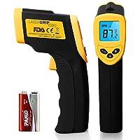 Etekcity Lasergrip 1080 Digital Laser IR Infrared Thermometer Temperature Gun (Yellow/Black)