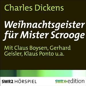 Weihnachtsgeister für Mister Scrooge Performance