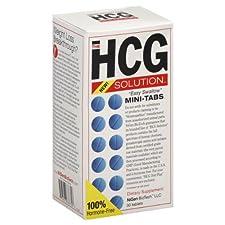 NiGen BioTech, LLC The HCG Solution, Easy Swallow, Mini-Tabs 30 tablets
