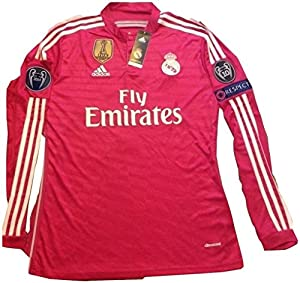 Amazon.com : Real Madrid pink jersey Cristiano Ronaldo long sleeve
