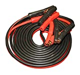 FJC 45255 1 Gauge Commercial Duty 25' Booster Cable - 800 amp