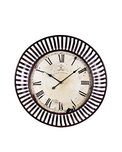 Banded Metal Wall Clock, Multi As You See