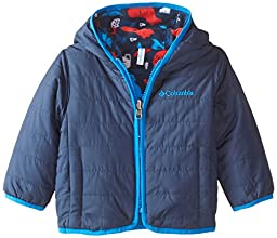Columbia Baby-Boys Infant Double Trouble Jacket, Collegiate Navy/Hyper Blue Pr, 18-24 Months