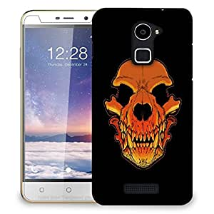 Snoogg Skull Of A Monster Designer Protective Back Case Cover For COOLPAD NOTE 3 LITE