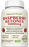 Pure Raspberry Ketones 1000mg, Non-gmo, 100% All Natural, Gluten Free. Premium and Effective Weight Loss Supplement, Appetite Suppressant, Metabolism Booster, Fat Burner & Carb Blocker That Works for Men and Women As Recommended By the Experts - Best Brand High Grade Belly Buster to Reduce, Trim, Burn and Maximum Lose Weight - 60 Vegetarian Capsules. Third Party Tested and Made in the USA