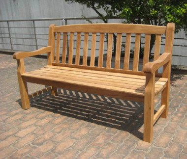 GreatGardensOnline Solid Oak 3 Seater Garden Bench GGOBENCH11