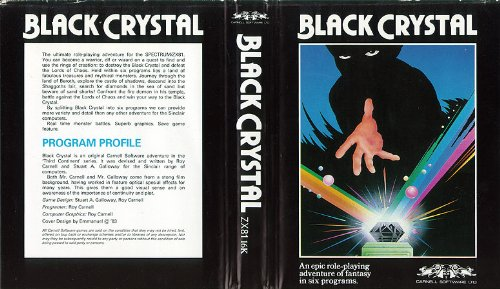 Black Crystal - Sinclair - Cassette - ZX-81