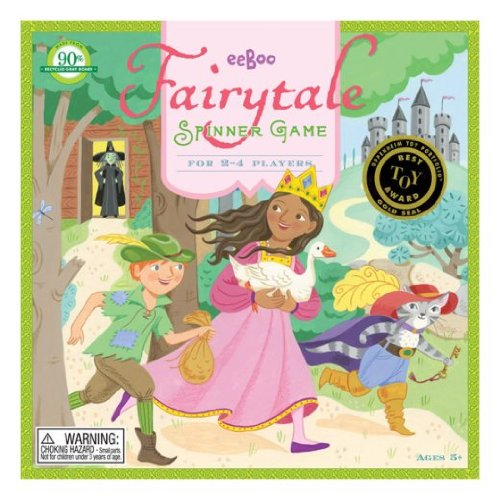 Eeboo Fairytale Spinner Game