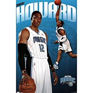 Orlando Magic Dwight Howard Sports Poster Print