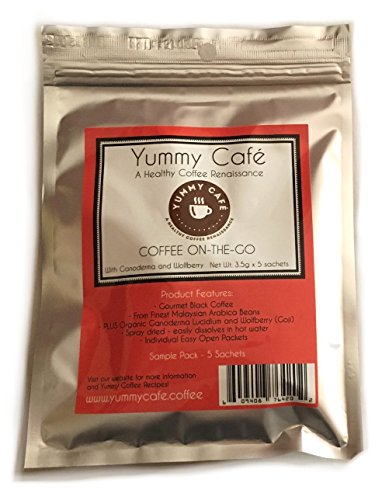 yummy-cafe-on-the-go-black-coffee-sampler-with-ganoderma-and-wolfberry-35-gm-x-5-sachets