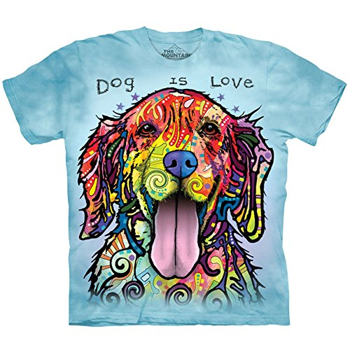 The Mountain Dog is Love T-Shirt, XX-Large, Blue