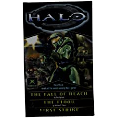 Halo, Books 1-3 (The Flood; First Strike; The Fall of Reach) by Eric Nylund and William C. Dietz
