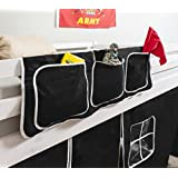 Bed Tidy, Pocket / Organiser for Cabin Beds/Bunks in PIRATE DESIGN