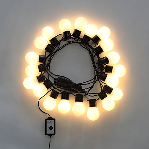String Lights 20 LED White G45 Globe Connectable Plug in Festoon Party String eBay