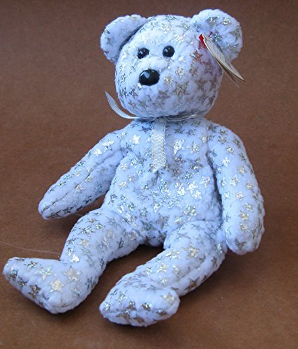 1 X TY Beanie Babies The Beginning Bear Plush Toy Stuffed Animal - 1