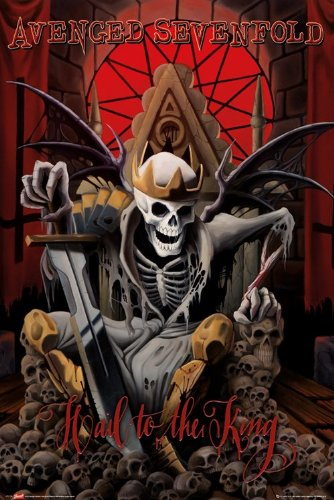 GB eye, Avenged Sevenfold, Hail to The King, Maxi Poster, 61x91.5cm