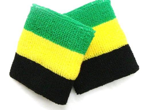 世界の国旗リストバンド ジャマイカ 2P