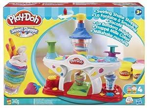 Play-Doh 36814148 - Juguete para hacer helados y batidos de plastilina