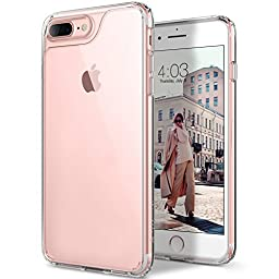 iPhone 7 Plus Case, Caseology [Waterfall Series] Slim Transparent Clear Cushion Grip [Clear] [Air Space Tech] for Apple iPhone 7 Plus (2016)