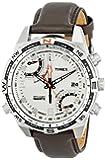 Timex Herren-Armbanduhr Analog Leder braun T49866D7