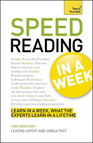 Speed Reading in a Week (Teach Yourself)