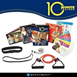 Tony Horton's 10 MINUTE TRAINER 5 Workouts SET - Includes Resistance Band and Other Extras
