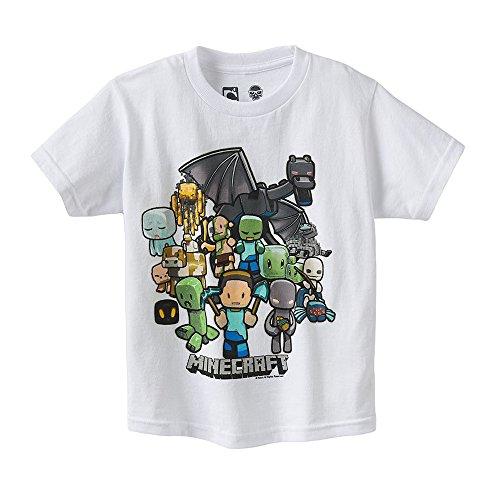Minecraft-para-fiesta-de-camiseta-para-hombre