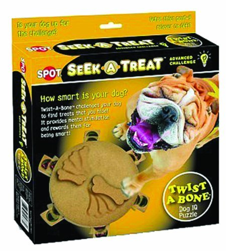 Ethical Products 773607 Seek-A-Treat Advanced Challenge Twist-A-Bone Toy For Pets