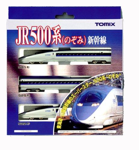 TOMIX Nゲージ 500系新幹線(のぞみ)基本セット(3両)