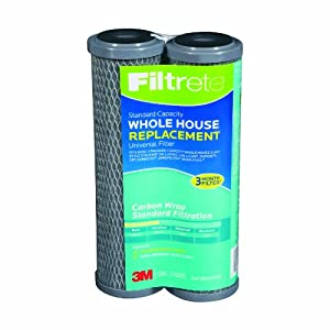 Filtrete 3WH-STDCW-F02 Standard Capacity Whole House System Refill, 2-Pack Carbon Wrap,... by 3M