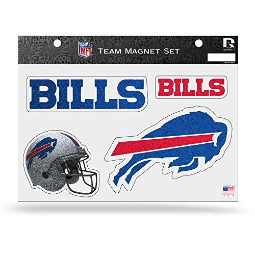 NFL Buffalo Bills Bling Team Magnet Set (Buffalo Bills Fridge Magnet compare prices)