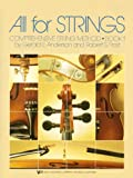 All for Strings: Comprehensive String Method, Book 1 (CELLO)