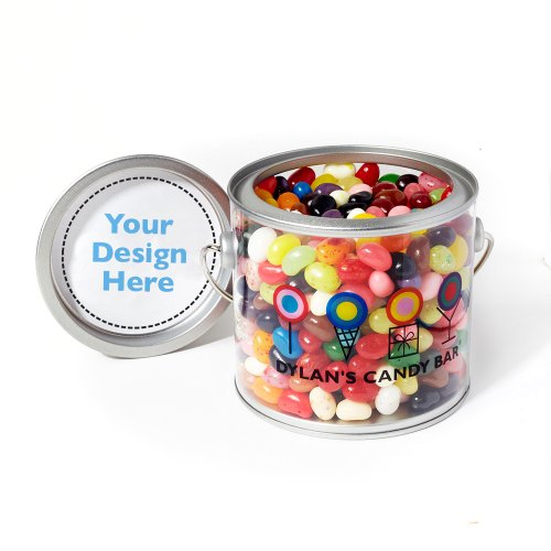 Dylan's Candy Bar Personalizable Gourmet Jelly Beans Paint Can