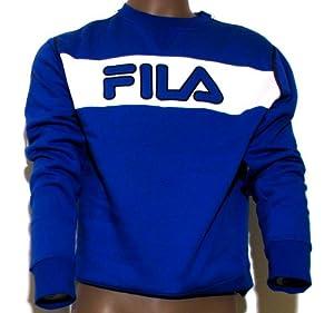 sweat shirt Homme FILA bleu -taille S