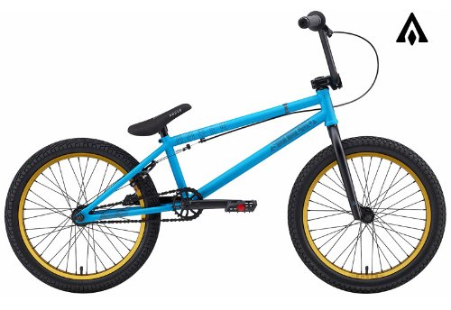 Amber Silo Matte Hot Blue BMX Bike
