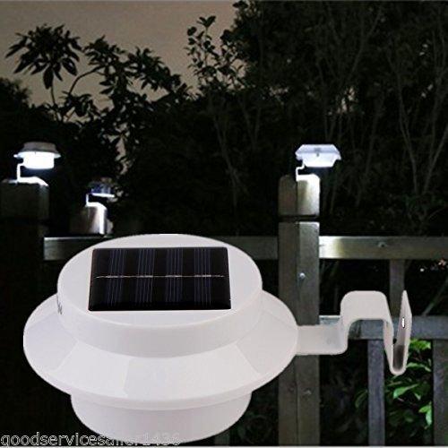 [LED Solar Portable Sun Power Smart Night Light Security house garden 4-6 hr sunl] (House With Dancing Halloween Lights)