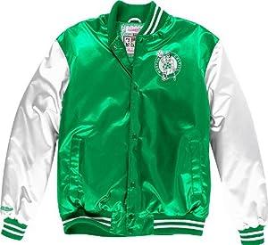 Boston Celtics Mitchell & Ness NBA Sublimated Premium Jacket by Mitchell & Ness