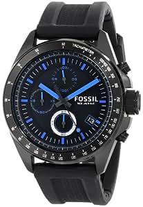 Fossil Men's CH2897 Decker Analog Display Analog Quartz Black Watch