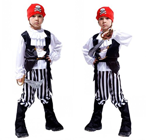 Purplebox Halloween Cosplay Costume Child Pirate Clothes Pirates Of The Caribbean