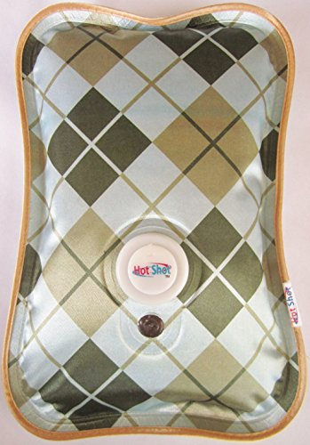 Rechargeable Portable Heat Pad/Pack (Brown Argyle)